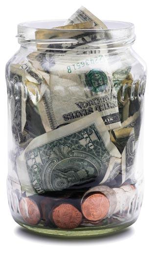 Money Jar at McNamara Orthodontics in Ann Arbor MI