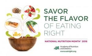 National Nutrition Month Ann Arbor MI